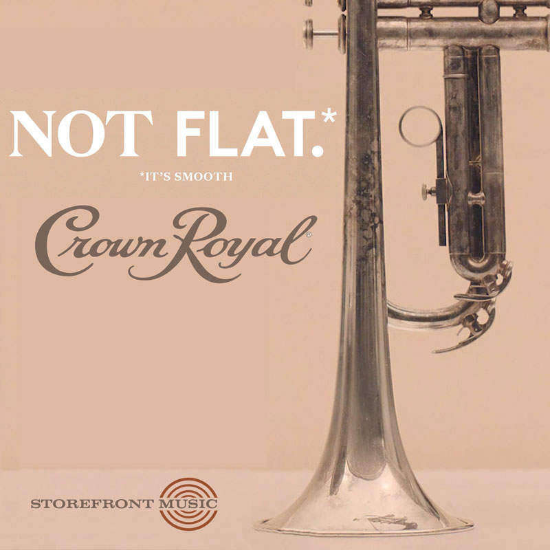 "Crown Royal ""Not Flat"""