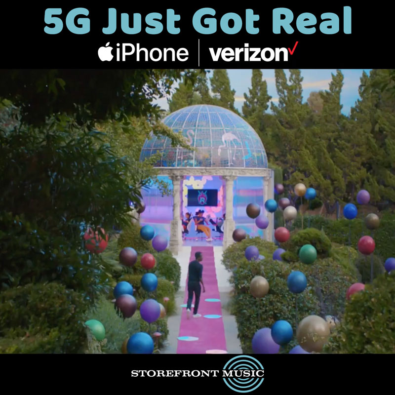 "Apple/Verizon ""5G Just Got Real"""