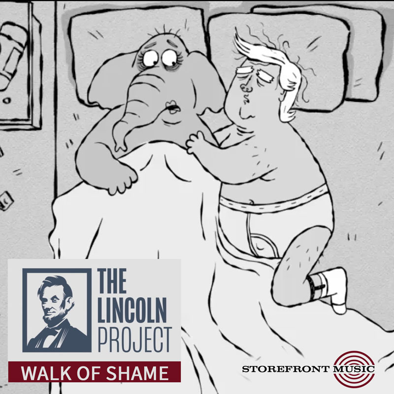 "The Lincoln Project – ""Walk of Shame"""